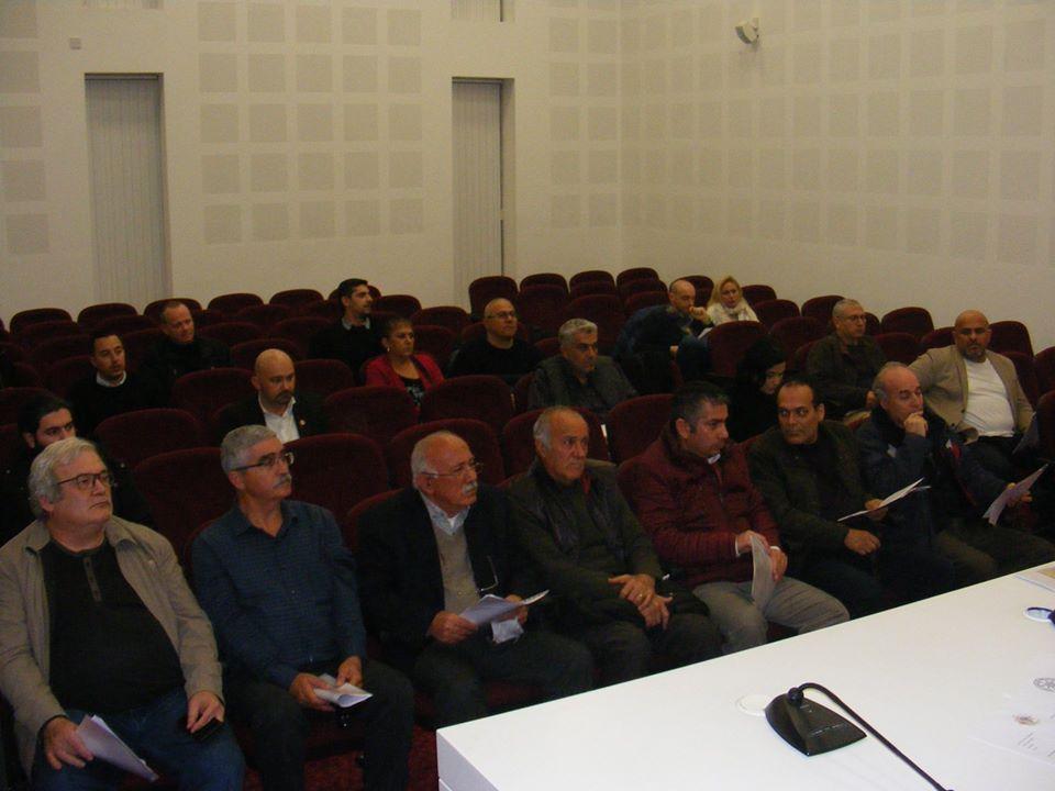 eski KKSF Başkanlarından Halil Şentuğ, Yener Ersoy, Hasan Akgün (vekaleten), Mehmet Akanyeti
